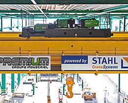 Maior empresa de aço do mundo compra cinco guindastes internos e dez guindastes giratórios STAHL no Canadá