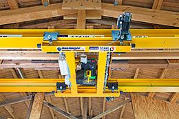 Pontes rolantes especiais tornaram-se soluções personalizadas STAHL para ambientes restritos.