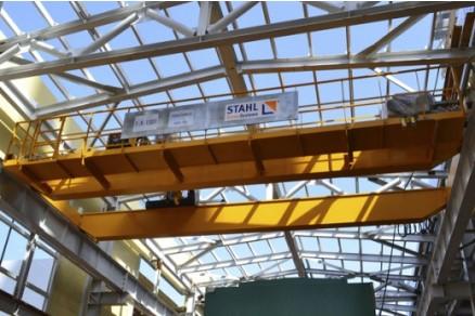 A terceira maior fabrica de fertilizantes do mundo utiliza pontes rolantes e talhas elétricas STAHL