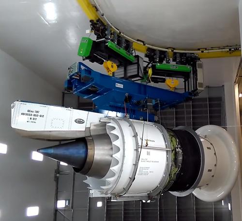GE Celma inaugura um dos maiores e mais modernos bancos de  testes de motores aeronáuticos do mundo utilizando tecnologia e  equipamentos da STAHL